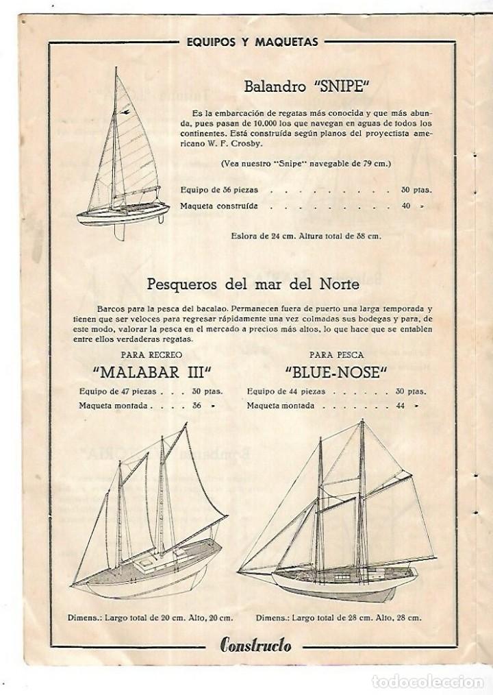 Hobbys: CONSTRUCTO. CATALOGO DE MINIATURA NAVAL. 1945. VER FOTOS DETALLADAMENTE - Foto 6 - 131477946