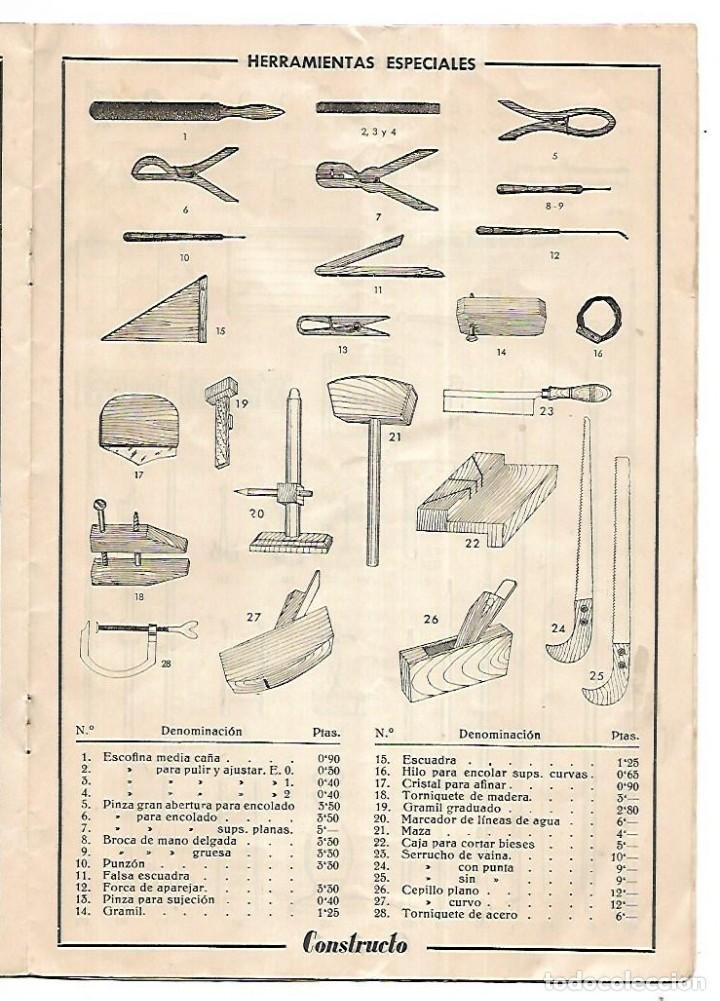 Hobbys: CONSTRUCTO. CATALOGO DE MINIATURA NAVAL. 1945. VER FOTOS DETALLADAMENTE - Foto 15 - 131477946