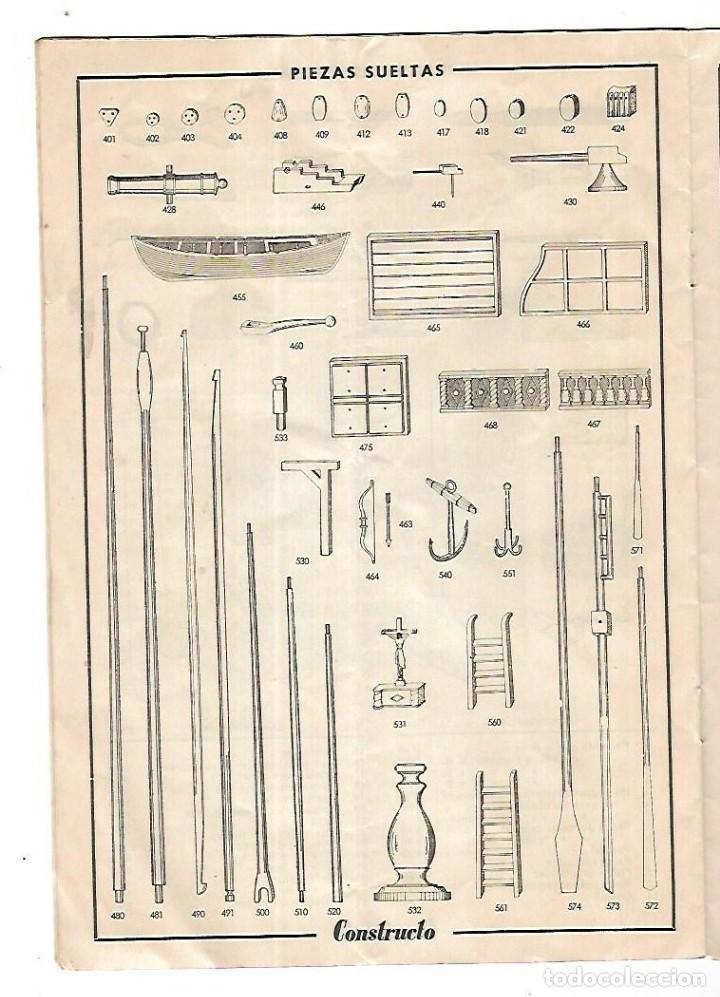 Hobbys: CONSTRUCTO. CATALOGO DE MINIATURA NAVAL. 1945. VER FOTOS DETALLADAMENTE - Foto 16 - 131477946