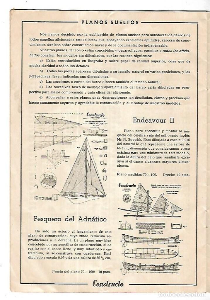 Hobbys: CONSTRUCTO. CATALOGO DE MINIATURA NAVAL. 1945. VER FOTOS DETALLADAMENTE - Foto 18 - 131477946