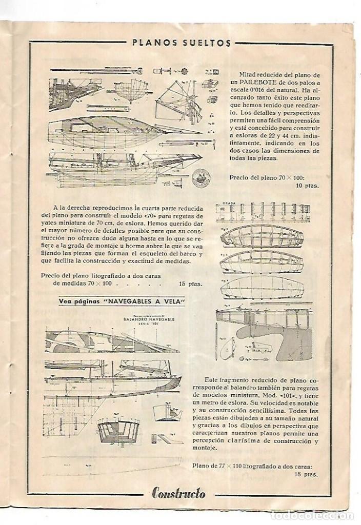 Hobbys: CONSTRUCTO. CATALOGO DE MINIATURA NAVAL. 1945. VER FOTOS DETALLADAMENTE - Foto 19 - 131477946