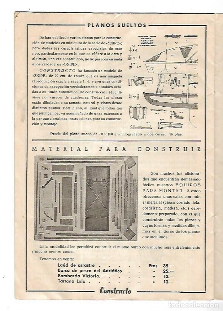 Hobbys: CONSTRUCTO. CATALOGO DE MINIATURA NAVAL. 1945. VER FOTOS DETALLADAMENTE - Foto 20 - 131477946