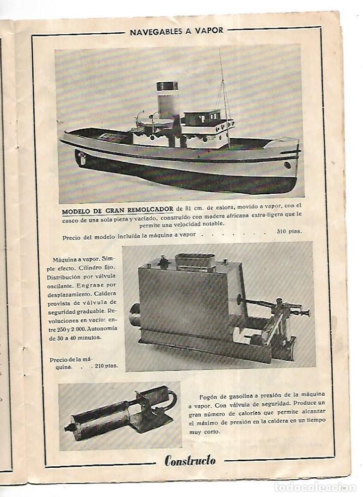Hobbys: CONSTRUCTO. CATALOGO DE MINIATURA NAVAL. 1945. VER FOTOS DETALLADAMENTE - Foto 21 - 131477946
