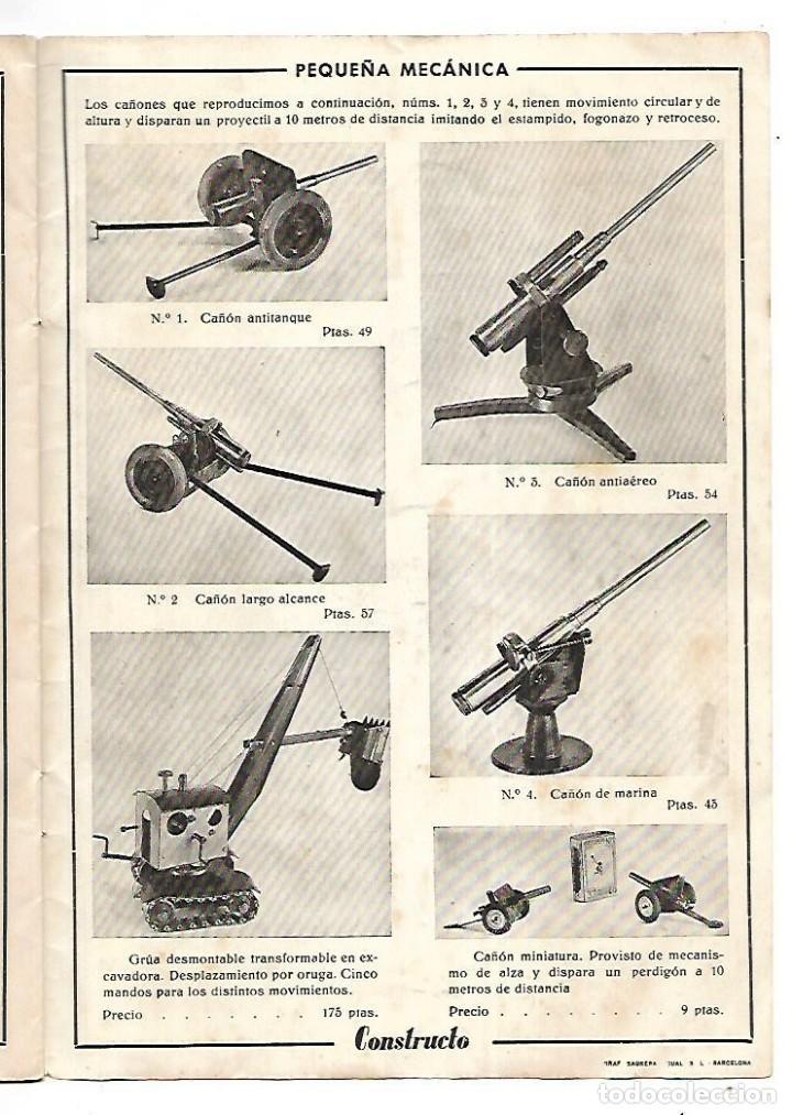 Hobbys: CONSTRUCTO. CATALOGO DE MINIATURA NAVAL. 1945. VER FOTOS DETALLADAMENTE - Foto 23 - 131477946