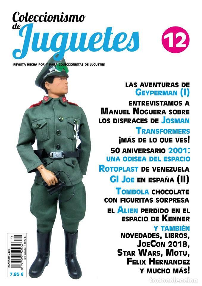 REVISTA COLECCIONISMO DE JUGUETES NÚMERO 12 (Juguetes - Modelismo y Radiocontrol - Revistas)