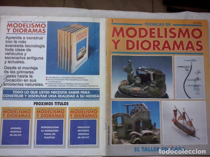 REVISTA: MODELISMO Y DIORAMAS 1 (ABLN) (Juguetes - Modelismo y Radiocontrol - Revistas)