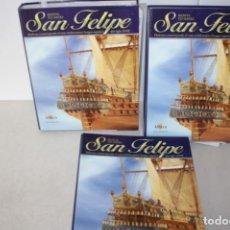 Hobbys: COLECCIÓN DE 120 FASCÍCULOS DEL SAN FELIPE.. Lote 138776910