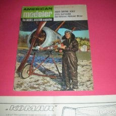 Hobbys: AMERICAN MODELER MAGAZINE MAY, 1967 80 PAGES INCLUDED WITH PLANE PLANE . REVISTA EN IDIOMA INGLÉS.. Lote 140352106