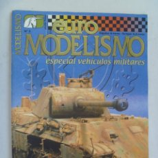 Hobbys: REVISTA EURO MODELISMO .... Nº 2, ESPECIAL VEHICULOS MILITARES. Lote 141523606