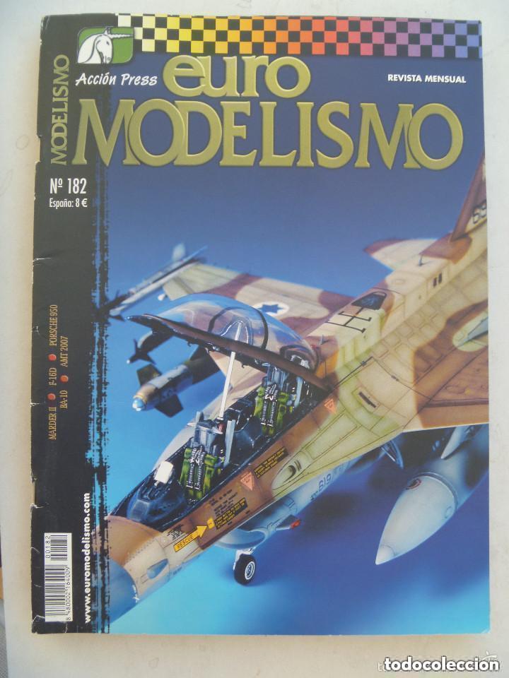 REVISTA EURO MODELISMO .... Nº 182. (Juguetes - Modelismo y Radiocontrol - Revistas)
