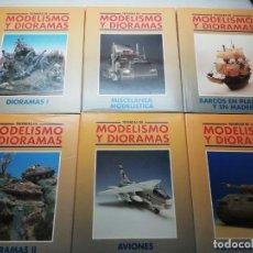 Hobbys: TÉCNICAS DE MODELISMO Y DIORAMAS. COMPLETO EN 6 TOMOS. ED. GENESIS. Lote 144580742