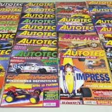 Hobbys: J- LOTE 26 REVISTAS AUTOTEC MODELISMO RADIO CONTROL MUY BUEN ESTADO . Lote 146413910