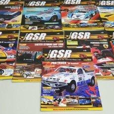Hobbys: J- LOTE 9 REVISTAS GSR GUIA SLOT RACING . Lote 146431530