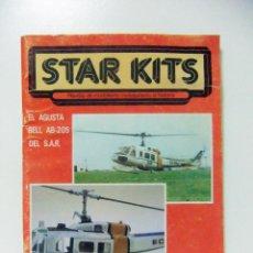 Hobbys: REVISTA STAR KITS Nº 2 AÑO 1982 MODELISMO MINIATURISMO - HELICÓPTERO AUGUSTA BELL S.A.R. MAQUETA. Lote 147916918