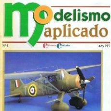 Hobbys: MODELISMO APLICADO Nº 4. Lote 147921886