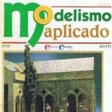 Hobbys: MODELISMO APLICADO Nº 33. Lote 147923882