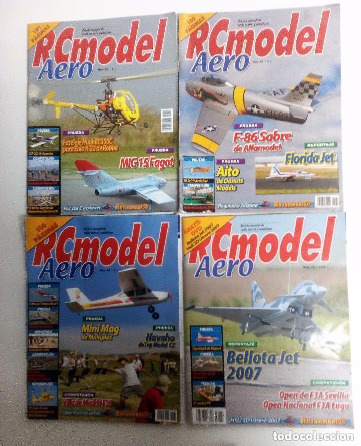 Hobbys: RC MODEL AERO LOTE DE 29 REVISTAS NÚMEROS ENTRE EL 2 Y EL 91 VER FOTOS Y DESCRIPCIÓN - Foto 3 - 150252770