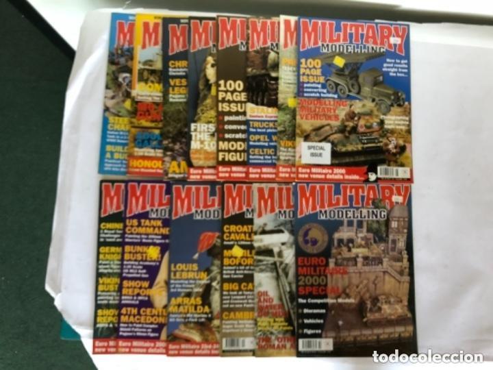 MILLITARY MODELLING, VOL. 30 (2000) - LOTE 14 REVISTAS (AÑO COMPLETO). (Juguetes - Modelismo y Radiocontrol - Revistas)