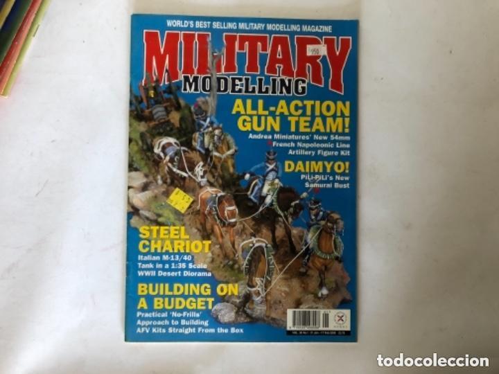 Hobbys: MILLITARY MODELLING, VOL. 30 (2000) - LOTE 14 REVISTAS (AÑO COMPLETO). - Foto 2 - 150253362