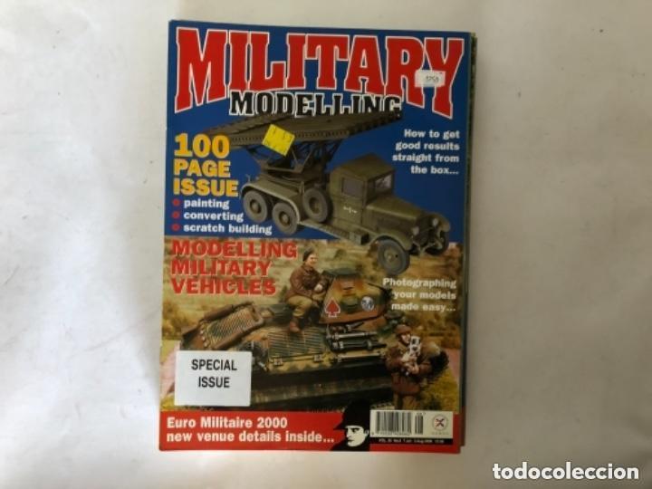 Hobbys: MILLITARY MODELLING, VOL. 30 (2000) - LOTE 14 REVISTAS (AÑO COMPLETO). - Foto 8 - 150253362