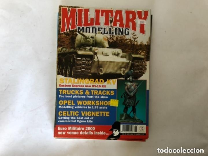 Hobbys: MILLITARY MODELLING, VOL. 30 (2000) - LOTE 14 REVISTAS (AÑO COMPLETO). - Foto 9 - 150253362