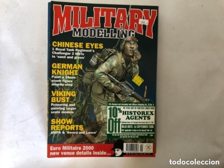 Hobbys: MILLITARY MODELLING, VOL. 30 (2000) - LOTE 14 REVISTAS (AÑO COMPLETO). - Foto 10 - 150253362