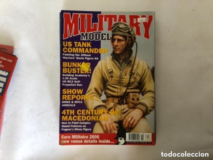 Hobbys: MILLITARY MODELLING, VOL. 30 (2000) - LOTE 14 REVISTAS (AÑO COMPLETO). - Foto 11 - 150253362