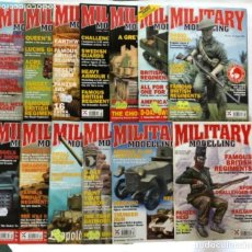 Hobbys: MILLITARY MODELLING, VOL. 34 (2004)- LOTE 13REVISTAS (FALTA: N° 3 Y 13).. Lote 150254330