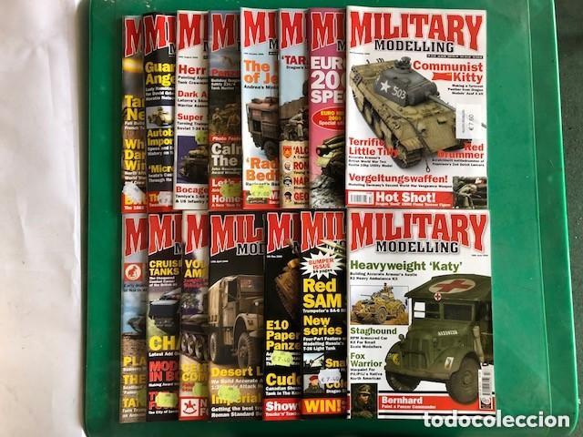 MILITARY MODELLING - LOTE DE 15 REVISTAS - AÑOS 2006 COMPLETO. (Juguetes - Modelismo y Radiocontrol - Revistas)