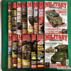 Hobbys: MILITARY MODELLING - LOTE DE 15 REVISTAS - AÑOS 2006 COMPLETO.. Lote 150254798