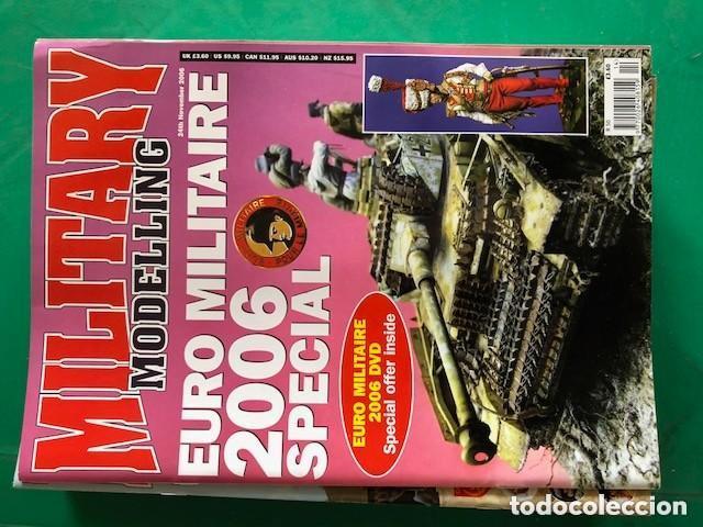 Hobbys: MILITARY MODELLING - LOTE DE 15 REVISTAS - AÑOS 2006 COMPLETO. - Foto 3 - 150254798
