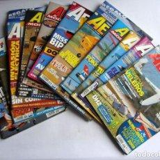 Hobbys: AEROTEC MODELISMO RC LOTE DE 11 REVISTAS VER FOTOGRAFÍAS Y DESCRIPCIÓN. Lote 150256494