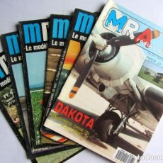 Hobbys: MRA LE MODÈLE RÉDUIT D'AVION 6 MAGAZINES Nº 443, 455, 458, 466, 469, 633 1977-1978 Y 1992. Lote 150261978