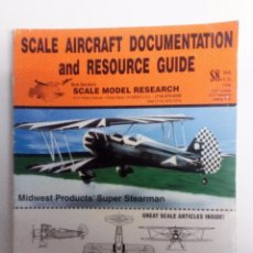 Hobbys: SCALE AIRCRAFT DOCUMENTATION AND RESOURCE GUIDE BOB BANKA´S SCALE MODEL RESEARCH 1998. Lote 150981150