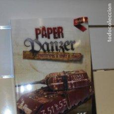 Hobbys: PAPER PANZER PROTOTYPES & WHAT IF TANKS EN INGLES - AK INTERACTIVE - OFERTA. Lote 151152102