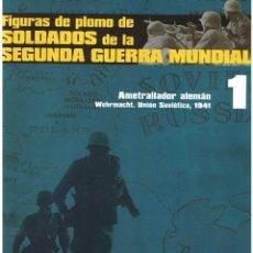 Hobbys: FIGURAS DE PLOMO. SOLDADOS DE LA 2ª GUERRA MUNDIAL. FASCÍCULO Nº 1. Lote 152272118