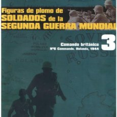 Hobbys: FIGURAS DE PLOMO. SOLDADOS DE LA 2ª GUERRA MUNDIAL. FASCÍCULO Nº 3. Lote 152272782