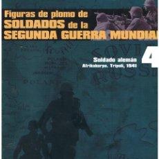 Hobbys: FIGURAS DE PLOMO. SOLDADOS DE LA 2ª GUERRA MUNDIAL. FASCÍCULO Nº 4. Lote 152273086
