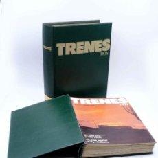 Hobbys: REVISTA TRENES HOY 1 A 24. EN DOS ARCHIVADORES (VVAA) RENFE, 1987. Lote 152413542