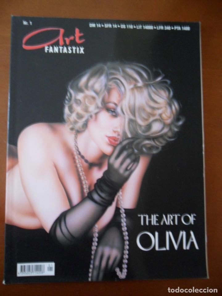 REVISTA ART FANTASTIX #1: THE ART OF OLIVIA (Juguetes - Modelismo y Radiocontrol - Revistas)