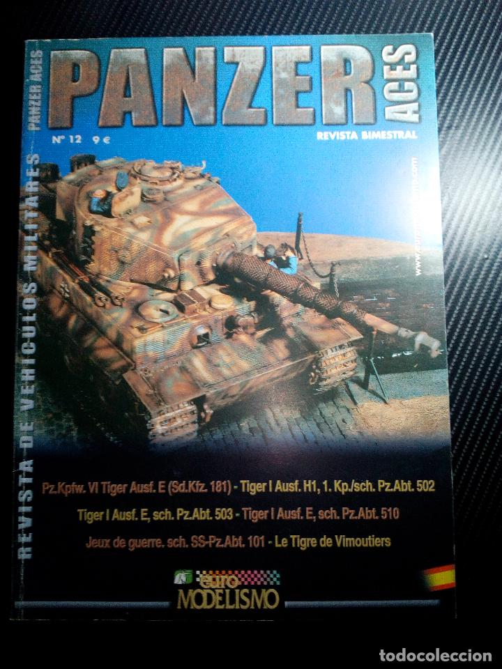 PANZER ACES Nº 12 -NOV 2005 (Juguetes - Modelismo y Radiocontrol - Revistas)
