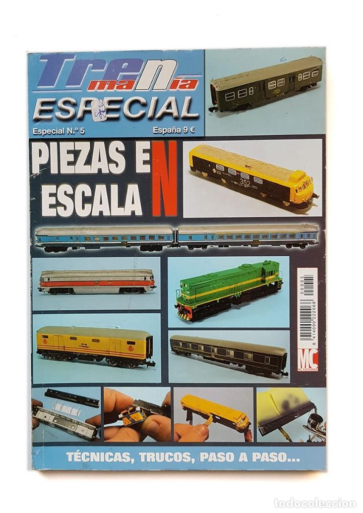 REVISTA TRENMANIA NUMERO ESPECIAL Nº 5, BUEN ESTADO (Juguetes - Modelismo y Radiocontrol - Revistas)