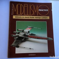 Hobbys: MODELISMO PRACTICO VEHICULOS DE CIENCIA FICCION : MONTAJE Y PINTURA. Lote 155987810