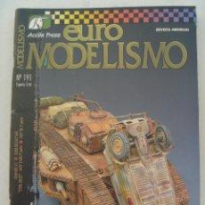 Hobbys: REVISTA EURO MODELISMO .... Nº 191. Lote 156284534