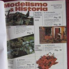 Hobbys: MODELISMO & HISTORIA. REVISTA MENSUAL Nº21 AL 29.VOLUMEN ENCUADERNADO. ED. HOBBY PRESS S.A. 1984-85. Lote 157977222