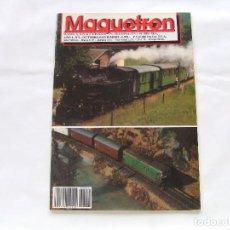 Hobbys: REVISTA MAQUETREN AÑO 1 Nº 1 AÑO 1991. Lote 158633418
