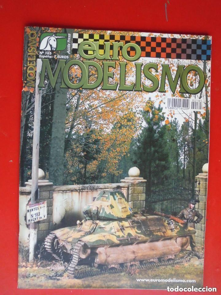 EUROMODELISMO Nº 165 (Juguetes - Modelismo y Radiocontrol - Revistas)