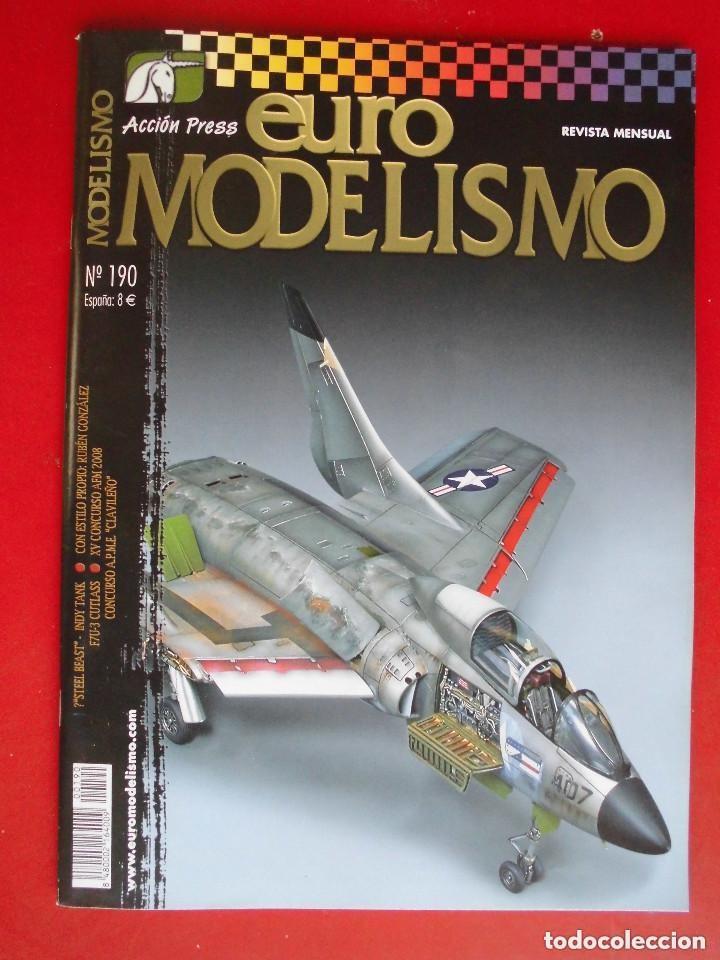 EUROMODELISMO Nº 190 (Juguetes - Modelismo y Radiocontrol - Revistas)