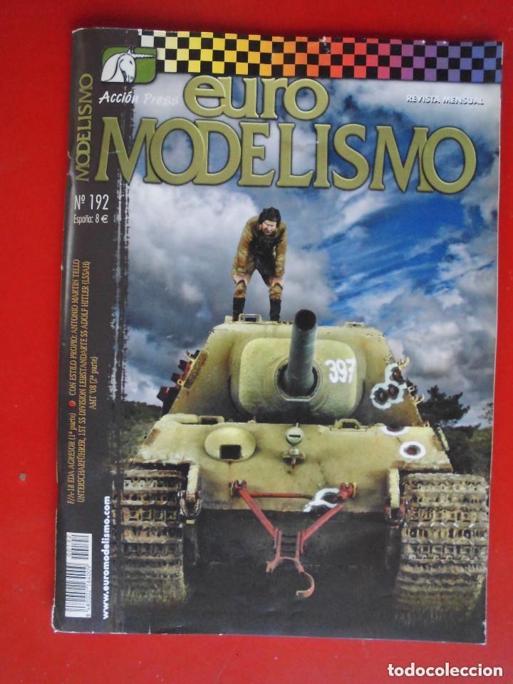 EUROMODELISMO Nº 192 (Juguetes - Modelismo y Radiocontrol - Revistas)