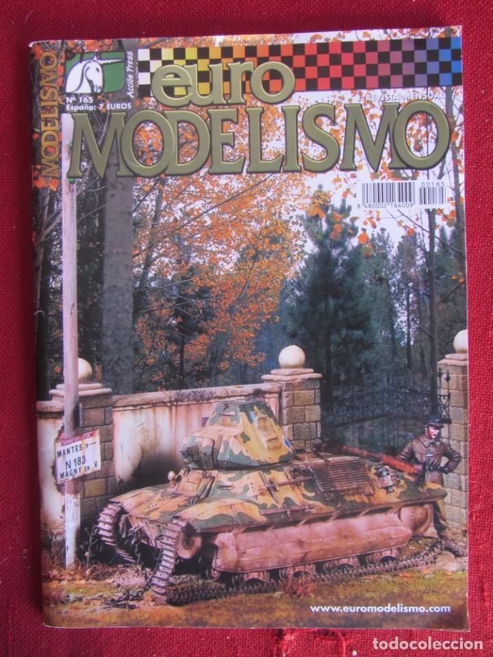 REVISTA EUROMODELISMO Nº 165. (Juguetes - Modelismo y Radiocontrol - Revistas)